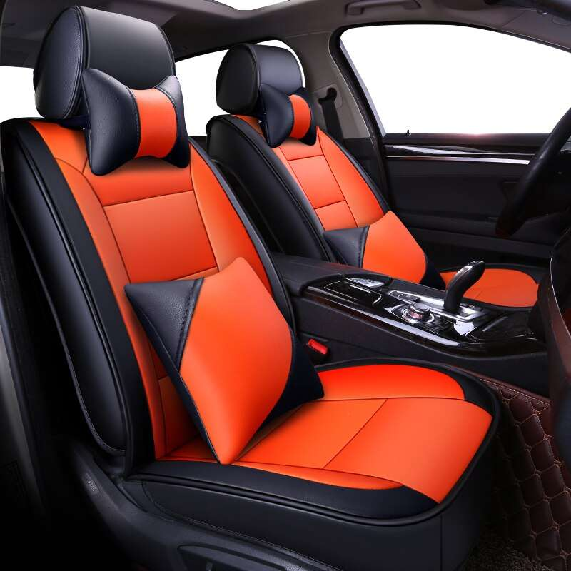 Carpoise Universal Leather Car Seat Covers – Styling 2