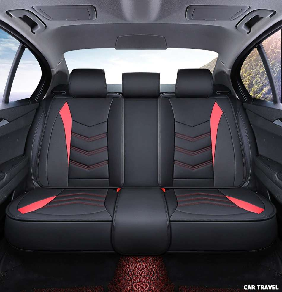 Carpoise Universal Leather Car Seat Covers Styling 3