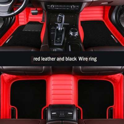 Carpoise Universal Leather Car Floor Mats – Styling 3