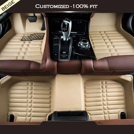 Carpoise Universal Leather Car Floor Mats – Styling 4