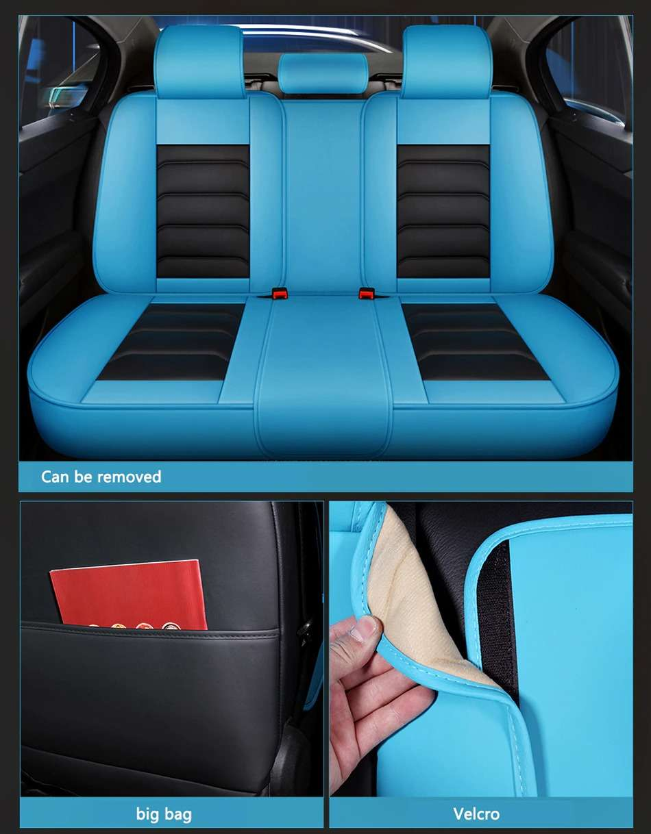 Name Carpoise Universal Leather Car Seat Covers Styling 6 1