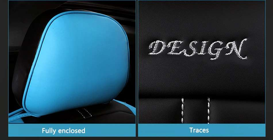 Name Carpoise Universal Leather Car Seat Covers Styling 6 3