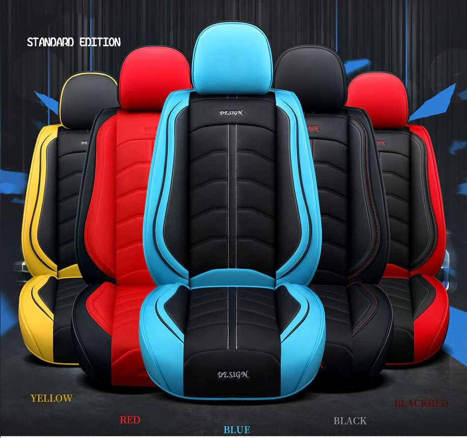 Name Carpoise Universal Leather Car Seat Covers Styling 6 6