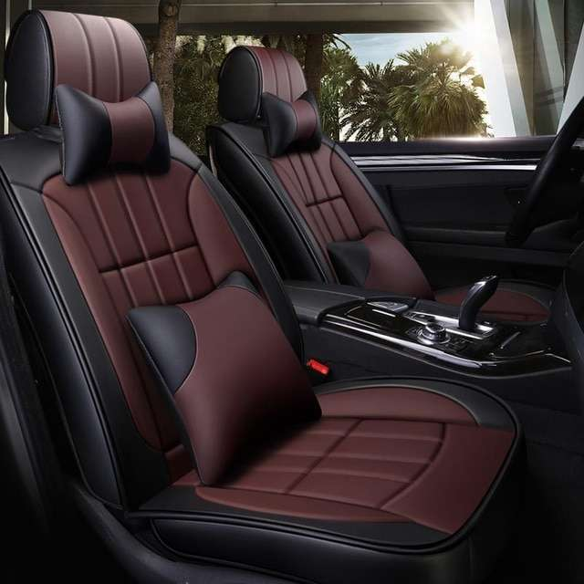 New luxury Leather car seat covers for chrysler 300c voyager citroen berlingo c4 cactus c4