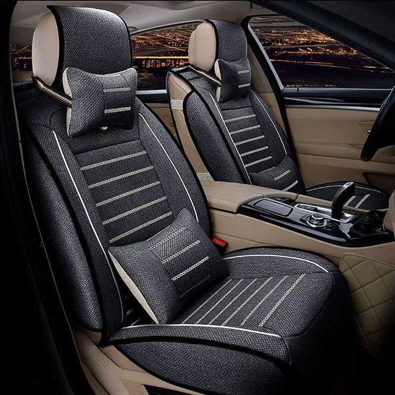 Carpoise Universal Leather Car Seat Covers – Styling 7