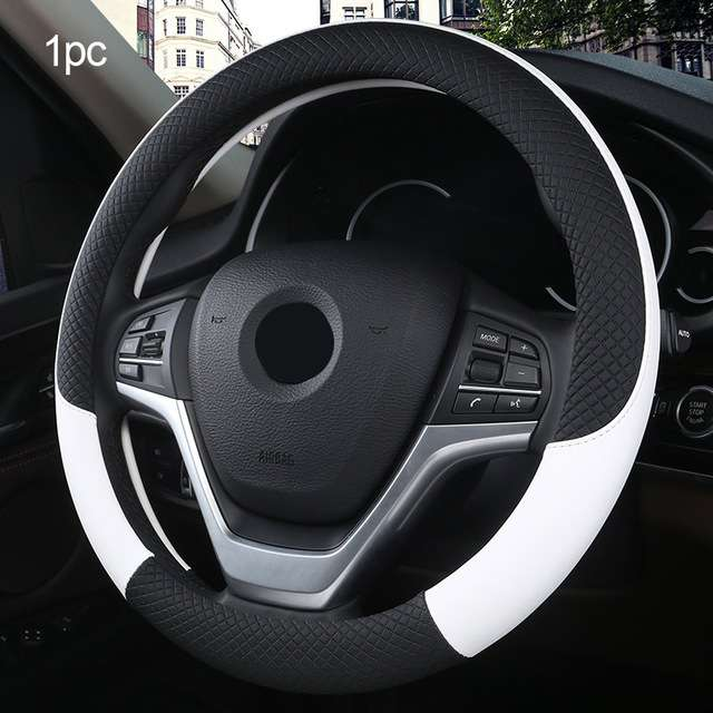 Carpoise Custom Leather Steering Wheel Covers – Styling 8