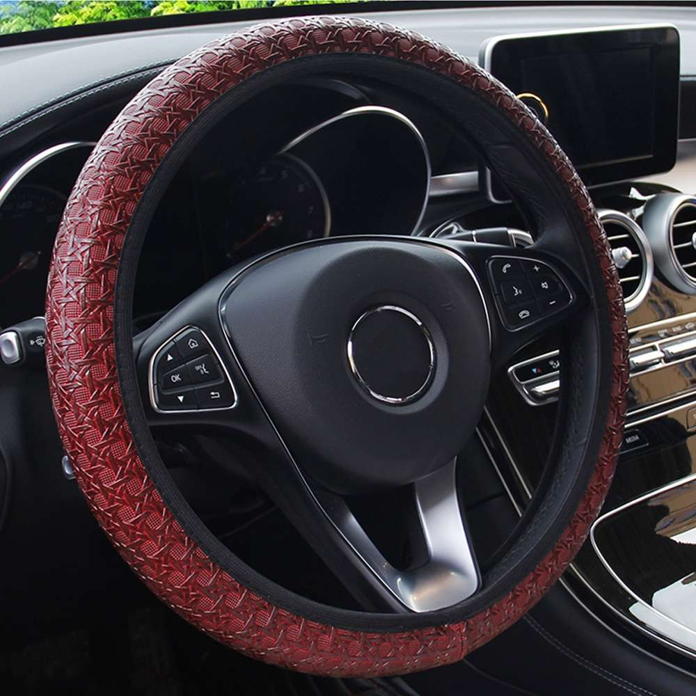 Carpoise Custom Skidproof Steering Wheel Covers – Styling 2