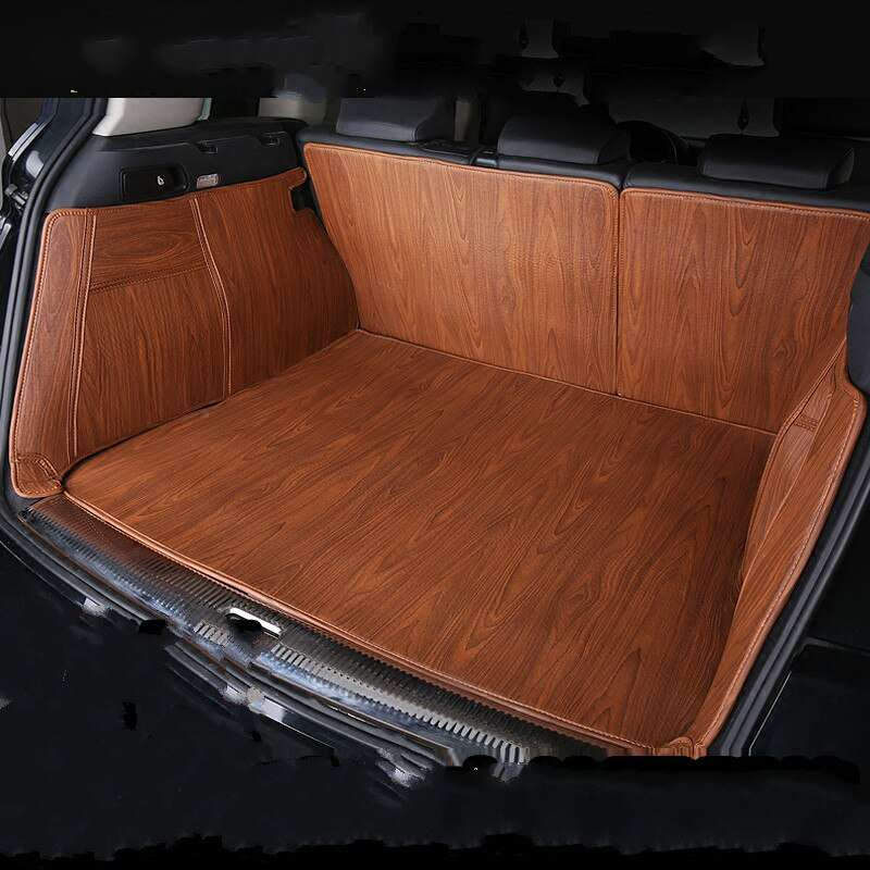 Carpoise Custom Wood Grain Car Trunk Mats – Styling 9