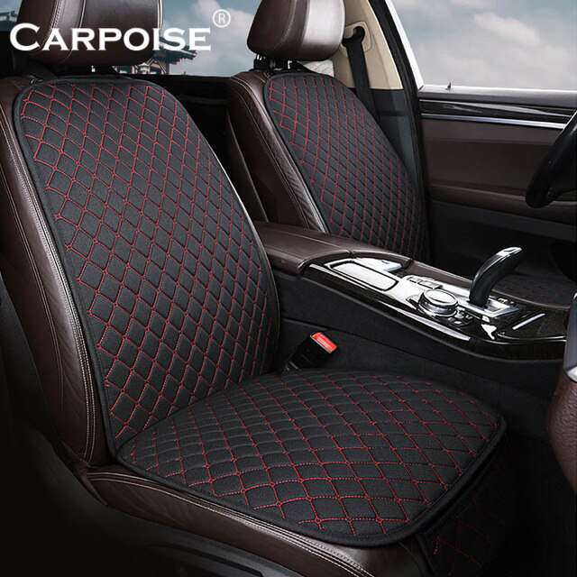 Carpoise High Quality Linen Custom Car Seat Covers Styling 2