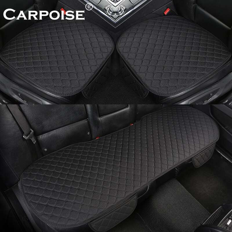 Carpoise High Quality Linen Custom Car Seat Covers Styling 4