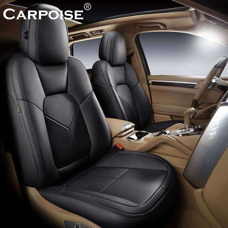 Carpoise PU Leather Car Seat Covers Styling 5