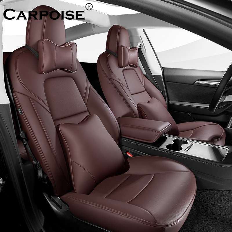 Carpoise PU Leather Car Seat Covers Styling 6 1