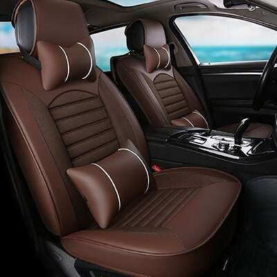 Carpoise Universal High Quality Linen Car Seat Covers