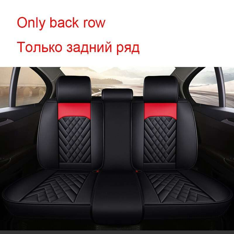 Carpoise Universal Leather Car Seat Covers Styling 10