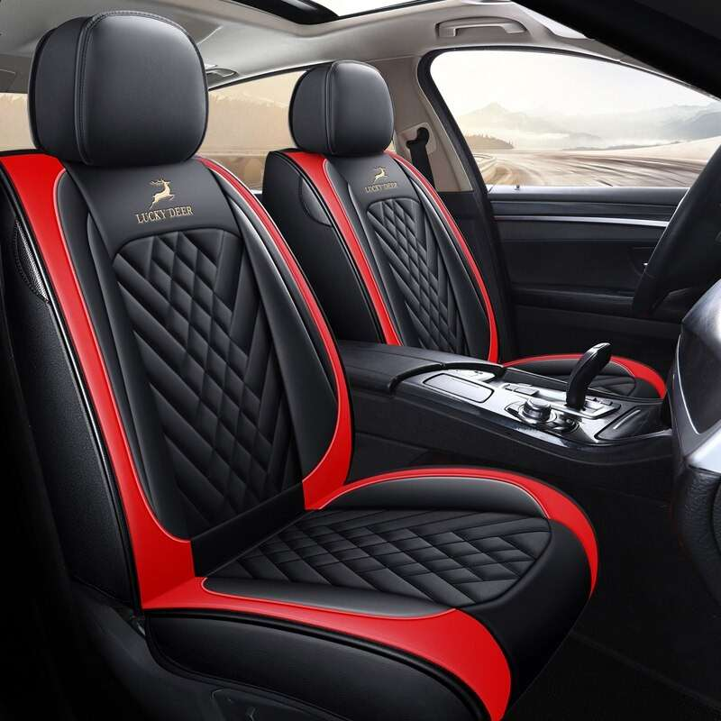 Carpoise Universal Leather Car Seat Covers Styling 10 24