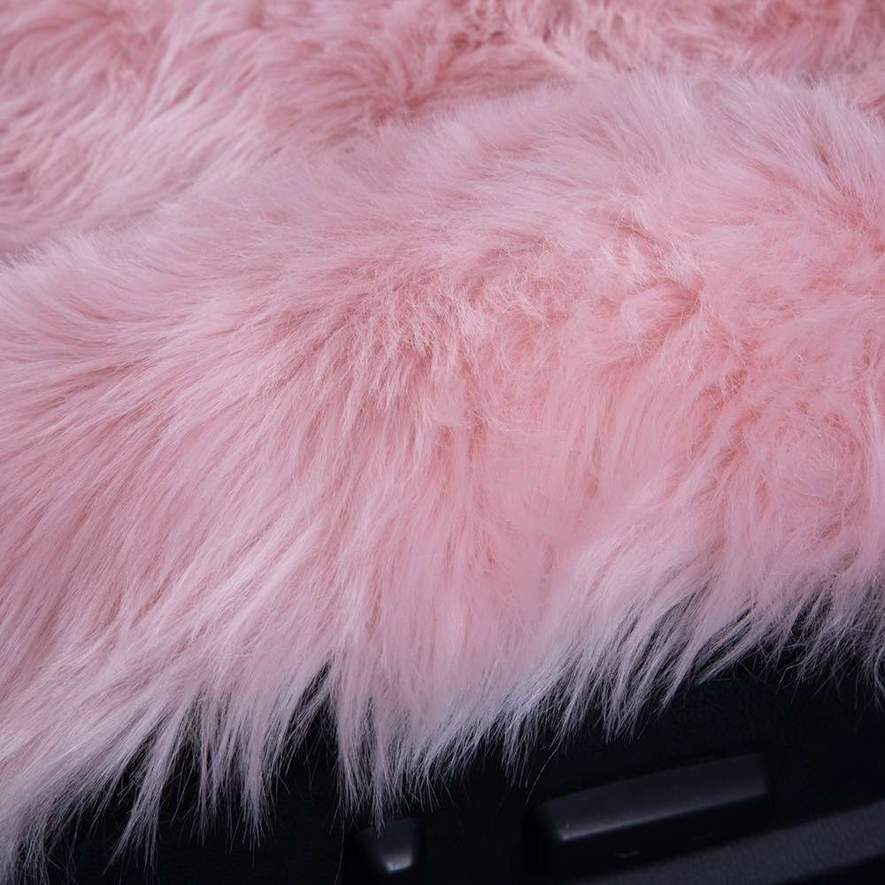Carpoise Winter Warm Faux Fur Car Seat Covers Style 2