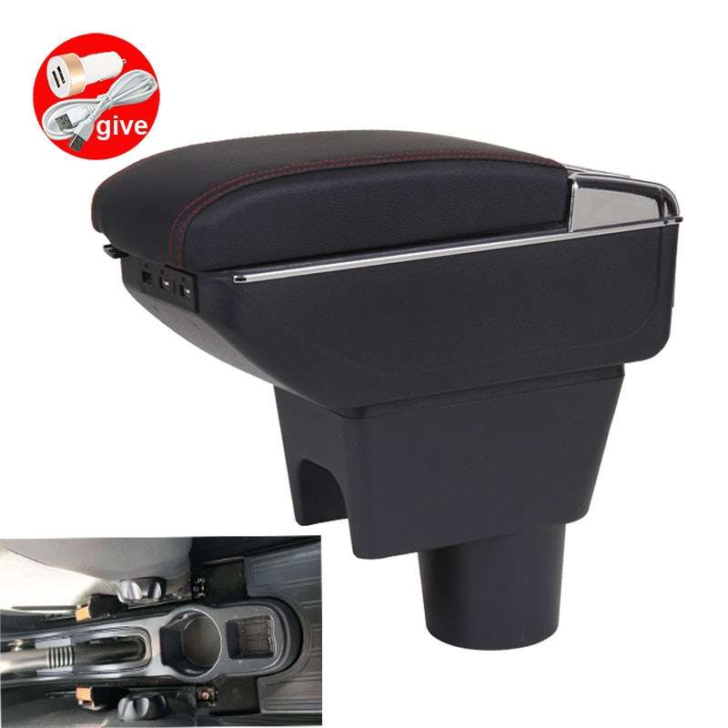 For Renault duster dedicated Armrests Box Renault duster Retrofit parts Armrest box Storage box with USB